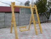 Идеи детских уличных качелей для дачи