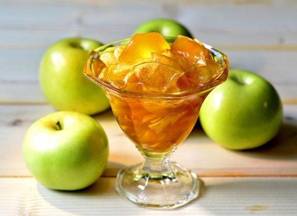 Варенье с яблочными дольками