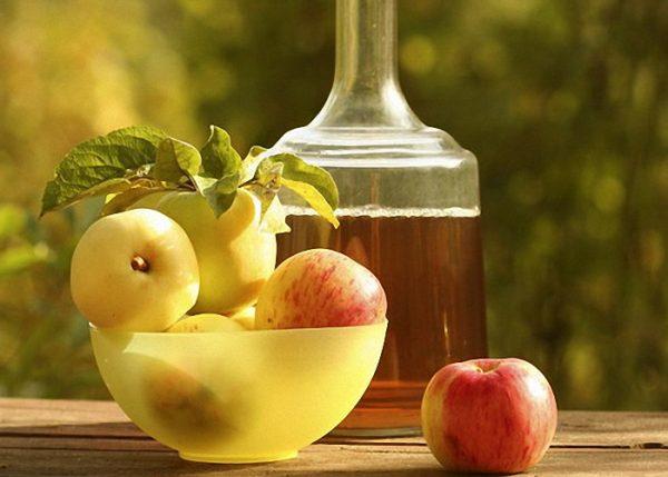 Настойка из яблок на зиму