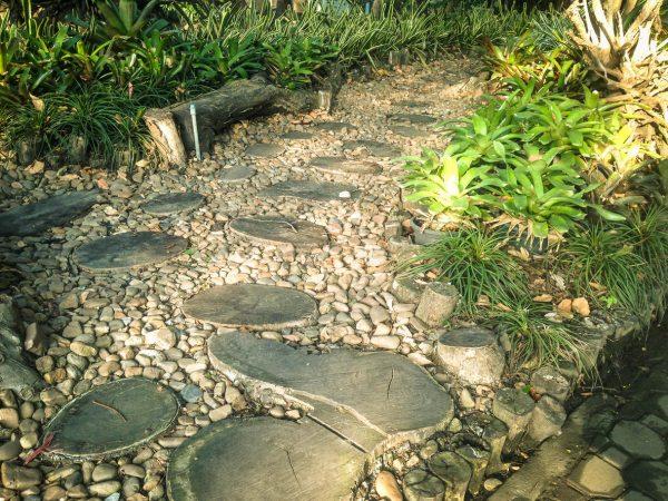 Срезы в сочетании с камнями