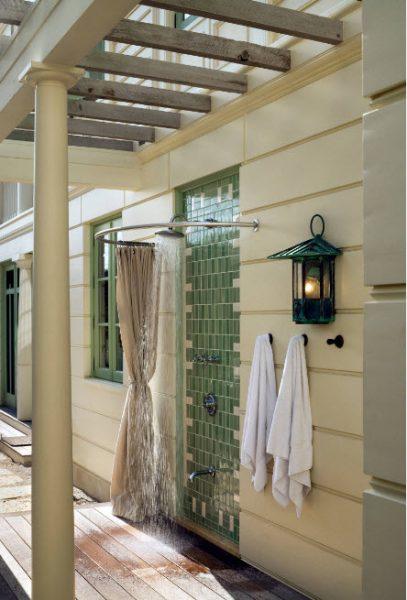 Полузакрытый душ