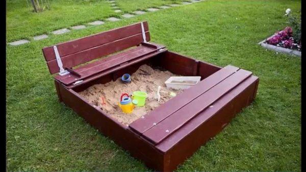 Закрывающаяся песочница