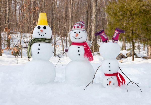 Перевёрнутый снеговик