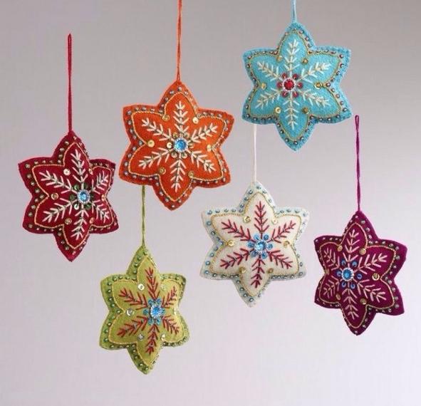 Разноцветные звёздочки