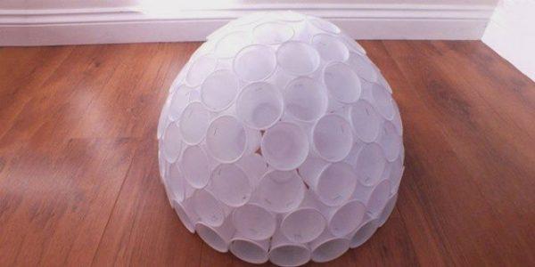 Шар для пластикового снеговика