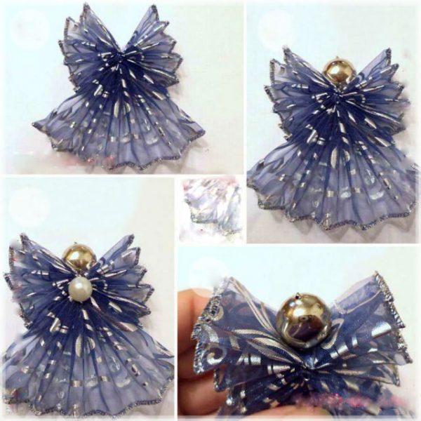 Ёлочная игрушка «Ангелочек»