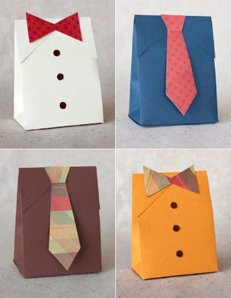 Упаковка для мужского подарка