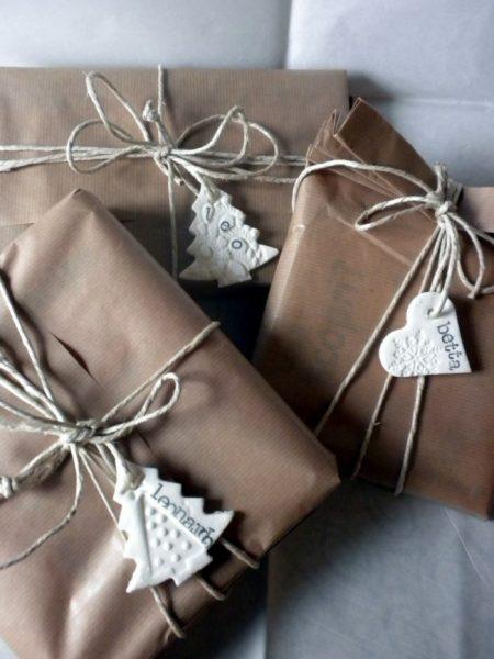 Ярлычки для подарка