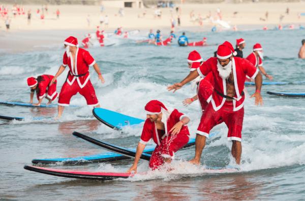 Новогодний сёрфинг в Австралии