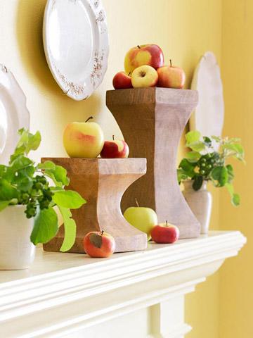 Яблоки в интерьере
