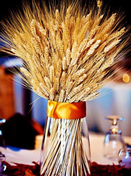 Пшеница в вазе