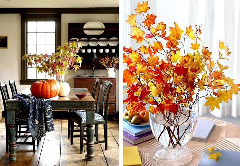 Осеннее украшение дома