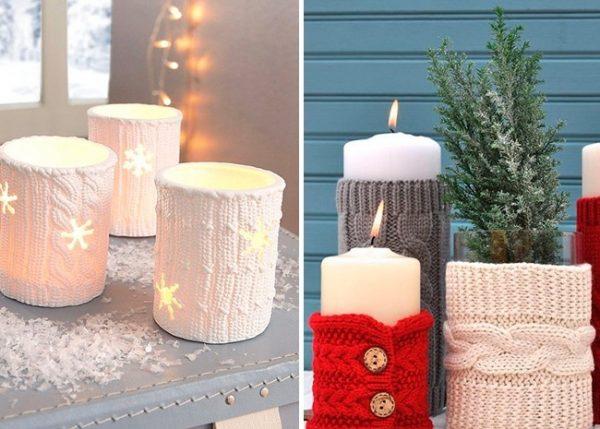 Тёплые свечи