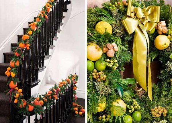 Лестница в мандаринах
