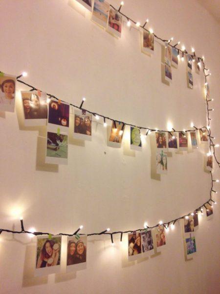 Фотографии и лампочки