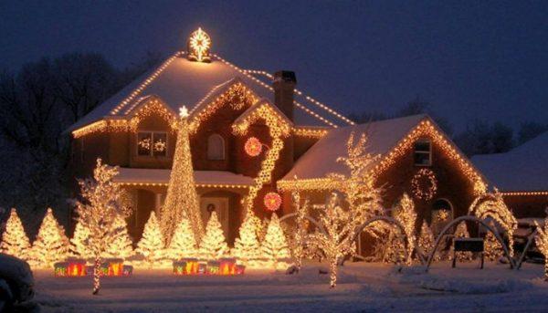 Светящийся дом