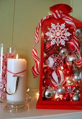 Свечи и украшение