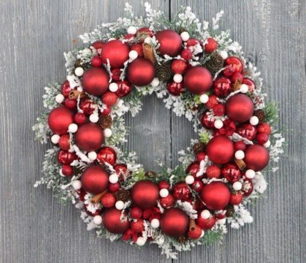 Снежный рождественский символ