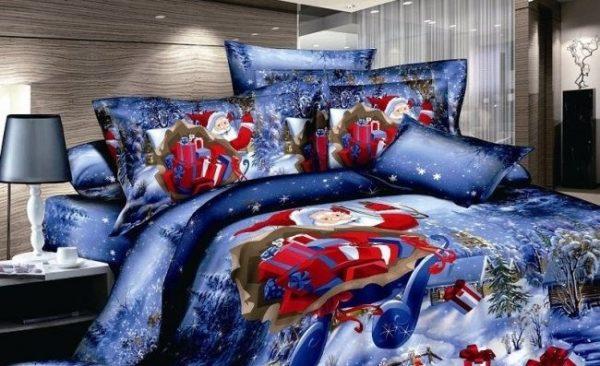 Объёмное постельное бельё