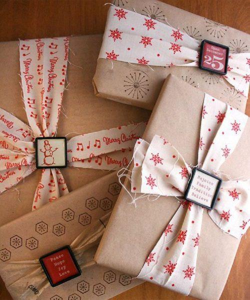 Текстиль на упаковке