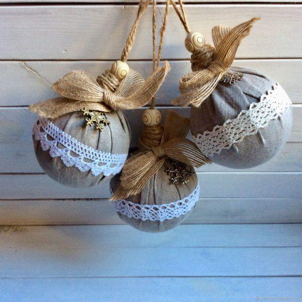Украшение для ёлочных шариков