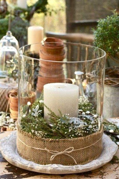 Рустикальная свеча