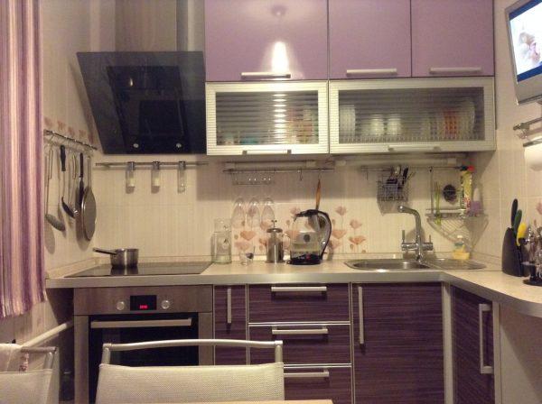 Фиолетовый гарнитур