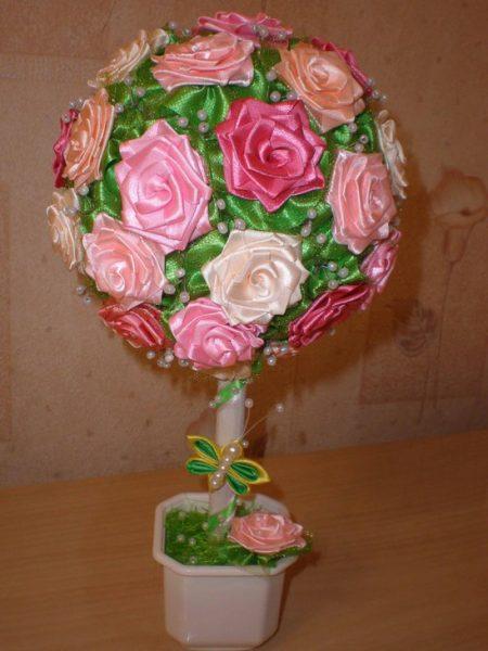 Розы с листочками
