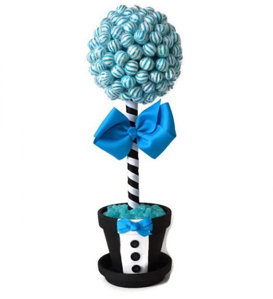 Синие конфетки