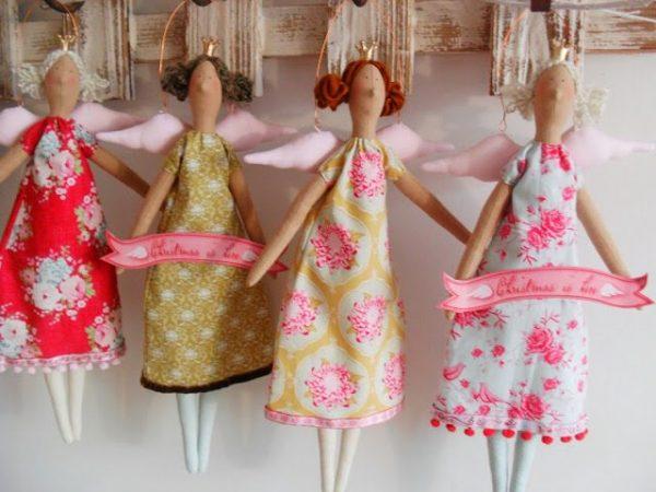 Куклы с крылышками