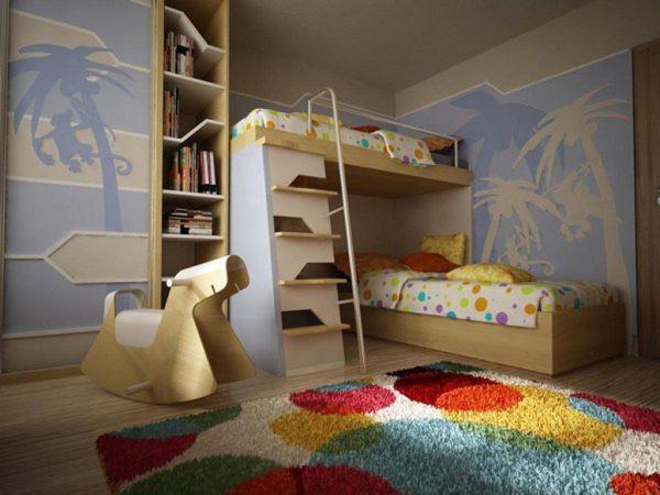 Перпендикулярные кровати