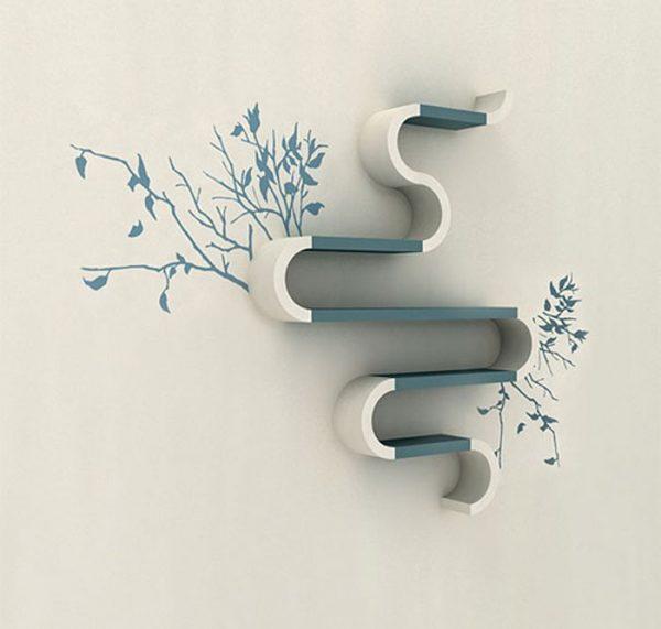 Бело-голубая расцветка