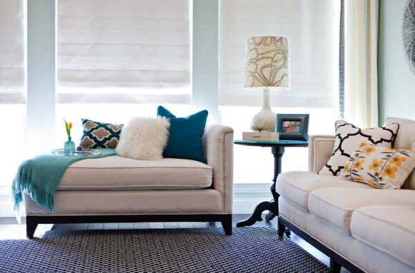 Подушки вместо спинки дивана