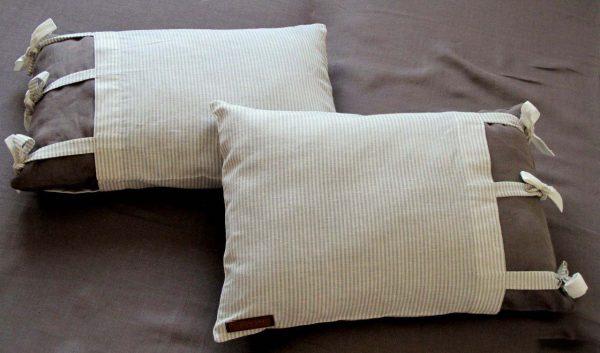 Подушка с интересных наперником