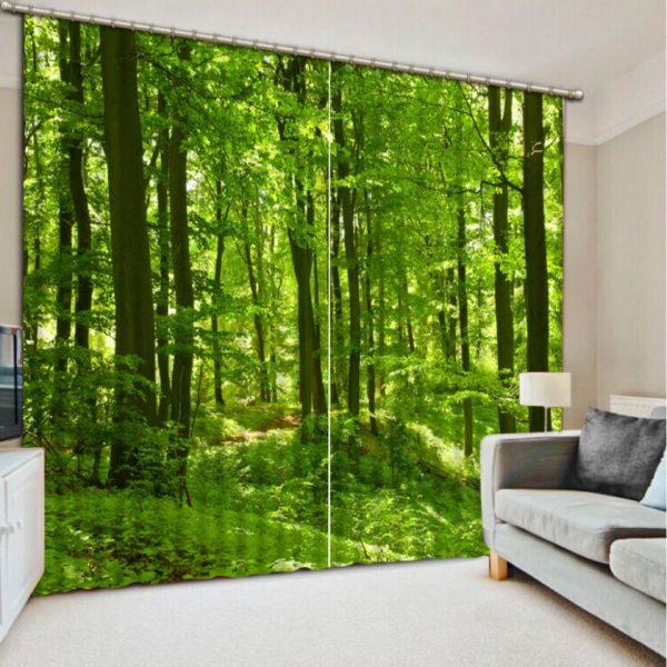 Живой лес в гостиной
