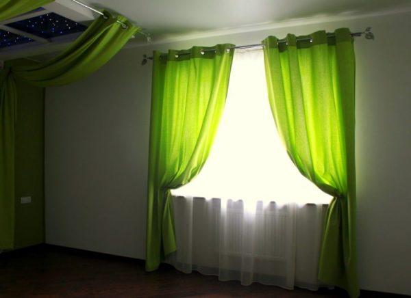 Полупрозрачные шторы