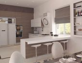 Дизайн кухни с полуостровом