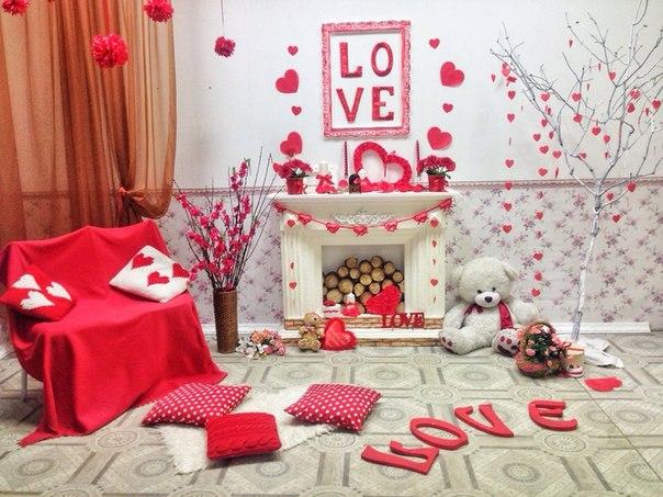 Идеи фотостудии на день святого валентина