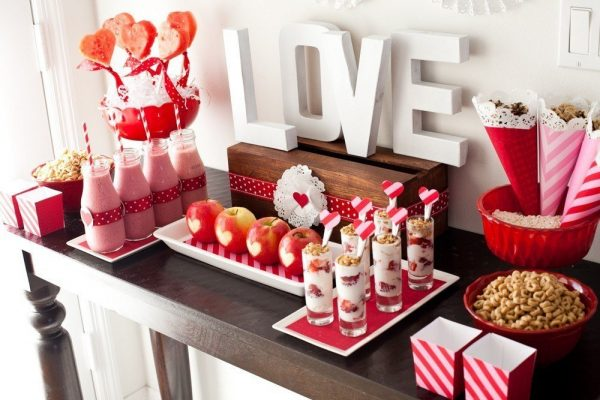 Угощения на День Святого Валентина