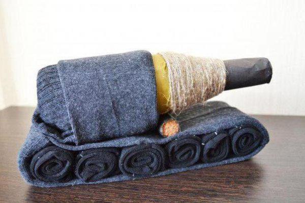 Вариант танка из носков