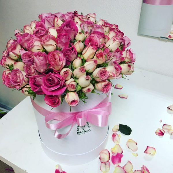 Чудесный букет роз
