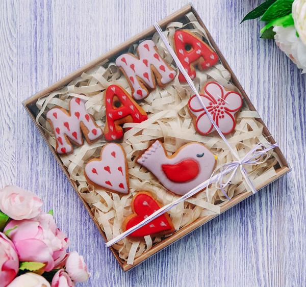 Подарочный набор печенья
