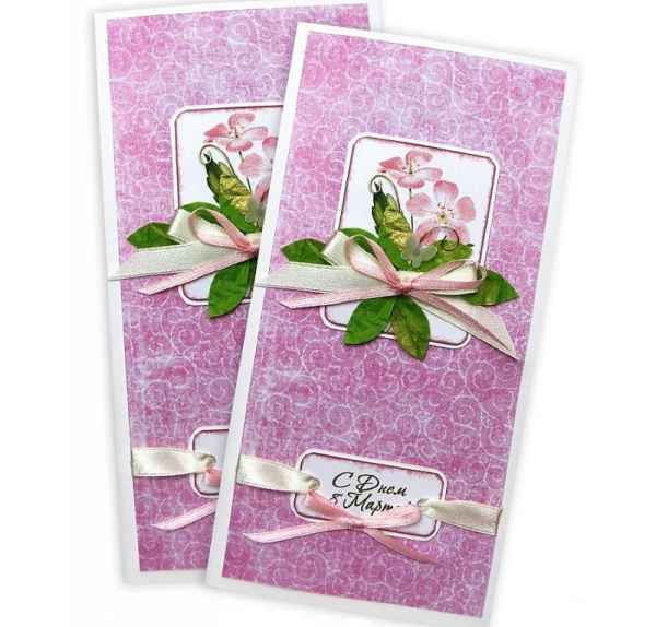 Узкие открытки