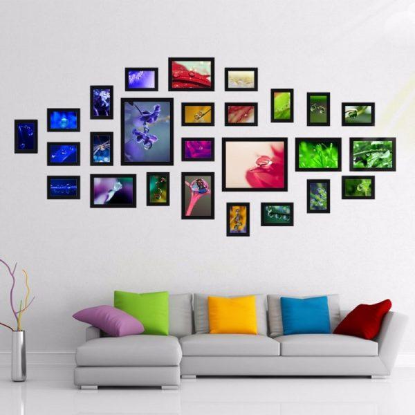 Рамки с яркими картинами