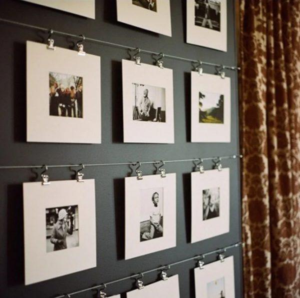 Фотографии на скрепках