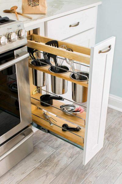 Хранение кухонных приборов