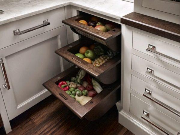 Ящики для хранения продуктов