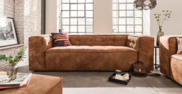 Высокий диван