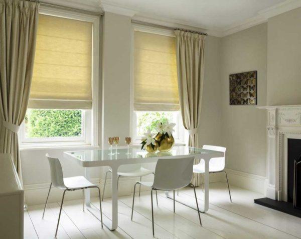 Греческие шторы в современном дизайне
