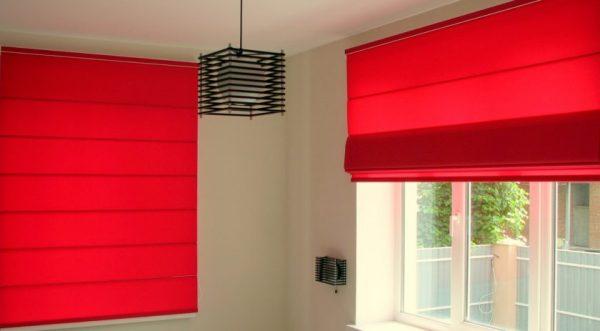 Яркие шторы